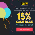 Shop Online With Ebates & Earn Cash Back + FREE $10 Gift Card