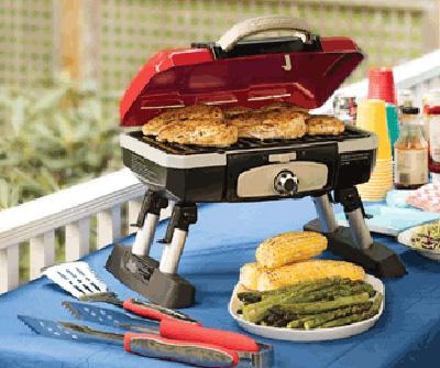 Cuisinart Gourmet Portable Tabletop Gas Grill