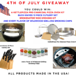 Wildwood Grilling 4th Of July Giveaway