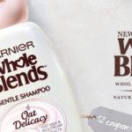 FREE Garnier Whole Blends Oat Delicacy Sample