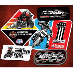FREE Set of Harley Davidson Racing Stickers
