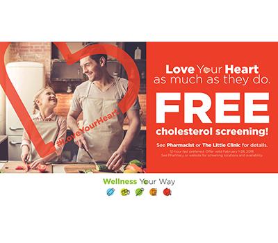 FREE Cholesterol Screening At Krogers