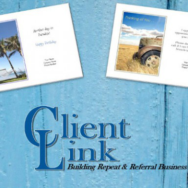 FREE Clientlink Postcard Sample