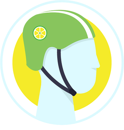 FREE Helmet from Lime Scooters