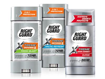 FREE Men's Antiperspirant Deodorant