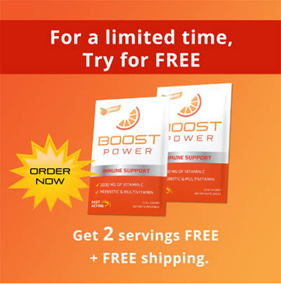 FREE Sample Of Boost Power
