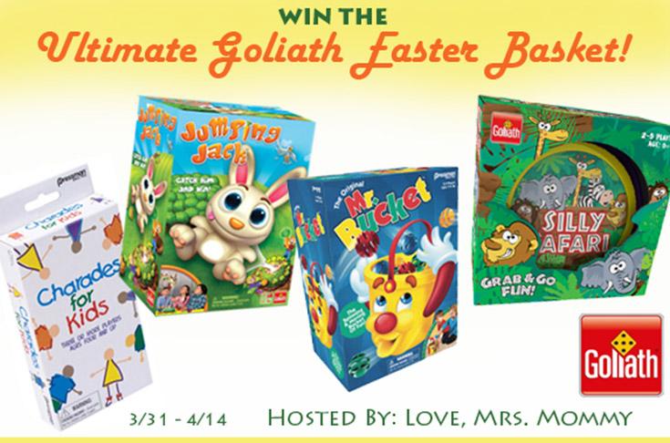 Ultimate Goliath Games Easter Basket Giveaway