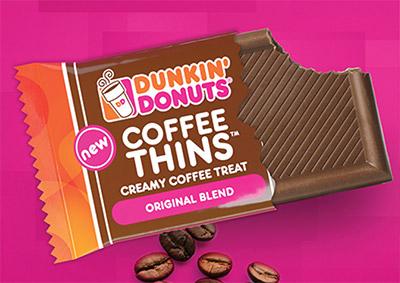 FREE Dunkin' Donuts Coffee Thin Bars
