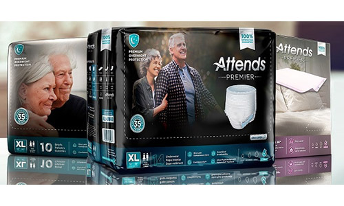 FREE Attends Premier Overnight Adult Underwear Sample Pack