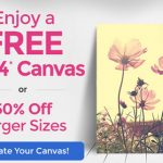 FREE 11x14 Canvas Print From Canvas People