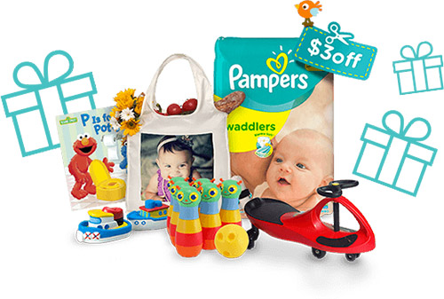 40 FREE Pampers Rewards Points