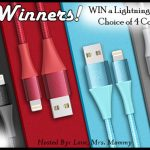 Xcentz iPhone Lightning Cable Giveaway