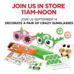JCPenney - FREE Crazy Sunglasses Event For Kids At JCPenney