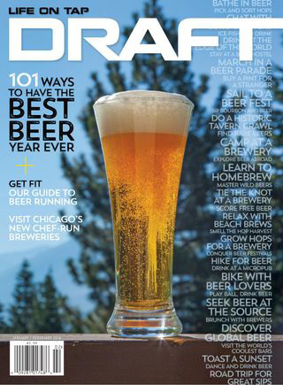 FREE 1 Year Subscription To Draft Magazine