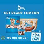 Free Blue Bunny Ice Cream