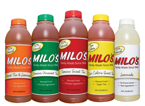 Free 20oz Bottle of Milo's Tea
