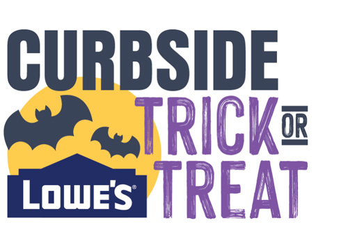 Lowe's Curbside Trick Or Treat Event